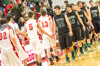 FHS Boys BK vs Northridge - Dec 21, 2012