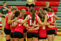 FHS VB vs Marion Pleasant August 24, 2013