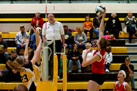 FHS VB vs Northmor October 19, 2013