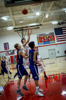 FHS Boys BK vs East Knox 01292016